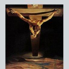Vintage: AZULEJO 20X30 CON IMAGEN DE JESUS CRUCIFICADO DE SALVADOR DALÍ. Lote 51426845
