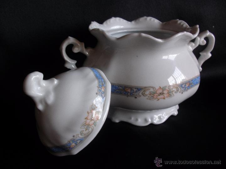 Vintage: Azucarero en porcelana Capeans - Foto 2 - 51450101