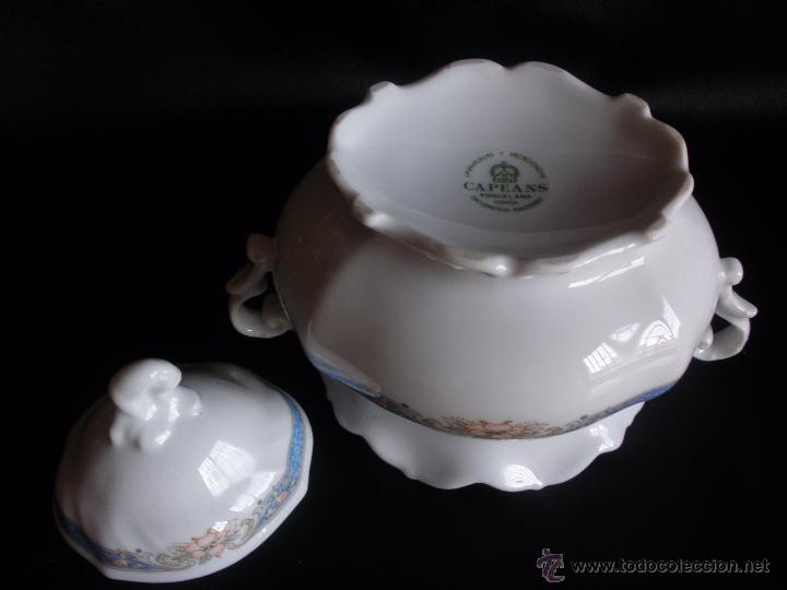 Vintage: Azucarero en porcelana Capeans - Foto 3 - 51450101