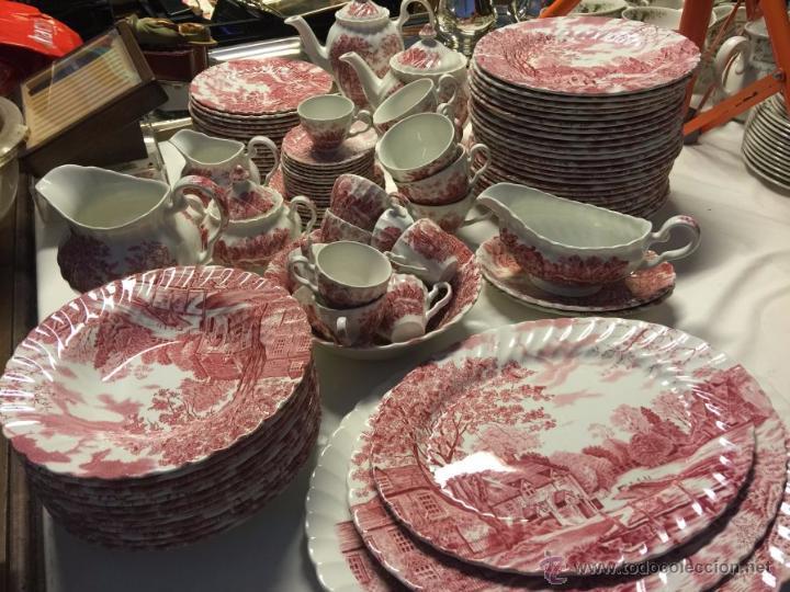 Vajilla inglesa johnson brothers modelo cotswol comprar porcelana y cer mica vintage en - Vajilla inglesa ...
