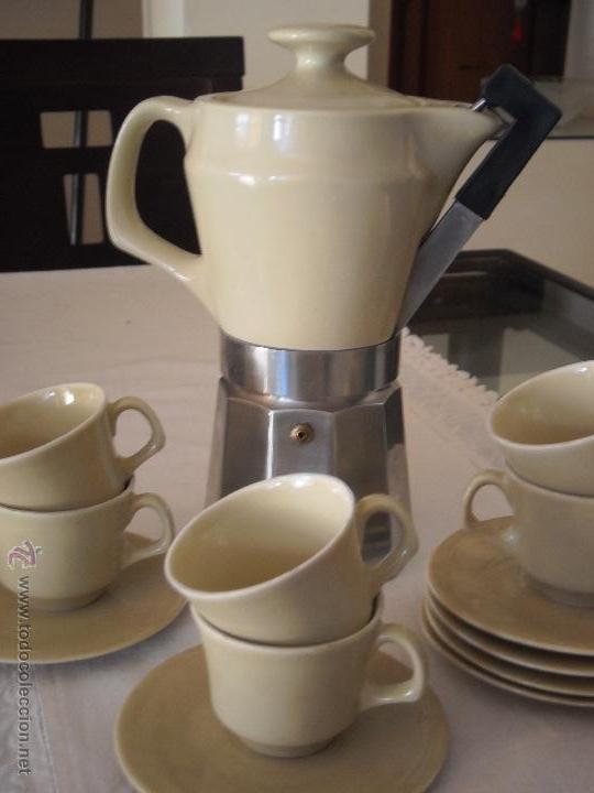 Conjunto de cafetera italiana con cuerpo de por comprar for Porcelana italiana