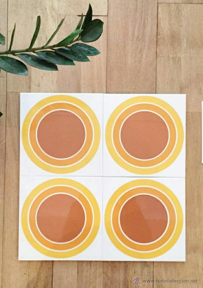 Azulejos Originales Anos 70 50m2 Comprar Porcelana Y Ceramica - Azulejos-originales