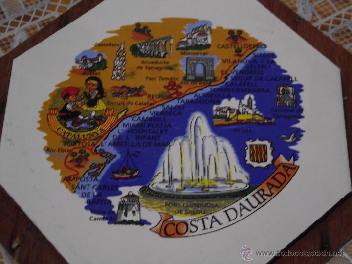 Vintage: AZULEJO OCTOGONAL COSTA DAURADA 20x20 - Foto 2 - 51959575