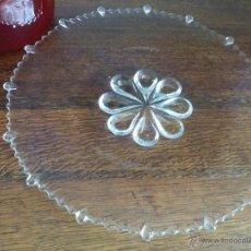 Vintage: BANDEJA DE CRISTAL IMPERIAL GLASS AÑOS 50.. Lote 52135300