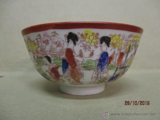 Cuenco Porcelana Japonesa Decoraci N Flores Co Comprar