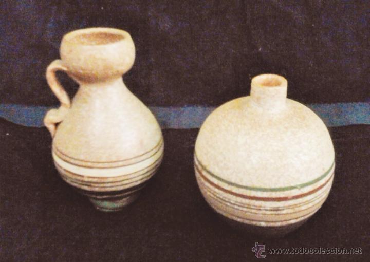 Peque os jarrones vintage ceramica terracot comprar for Decoracion en ceramica artesanal