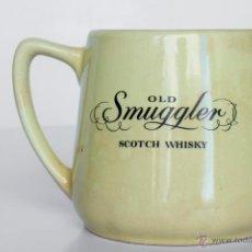 Vintage: JARRA CERAMICA OLD SMUGLER SCOTCH WHISKY. Lote 52633064