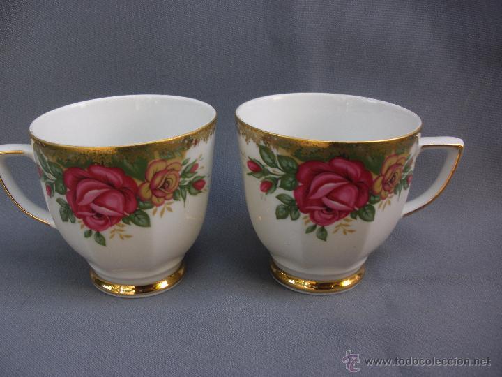 Antiguas tazas de porcelana bavaria decoradas c comprar - Tazas decoradas a mano ...