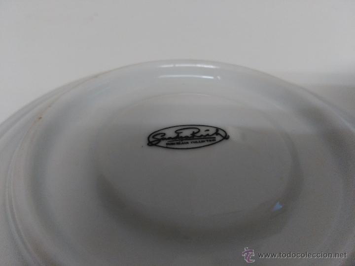 Vintage: Juego de taza y plato de porcelana. Marca Sandra Rich porcelana collection - Foto 7 - 53218477