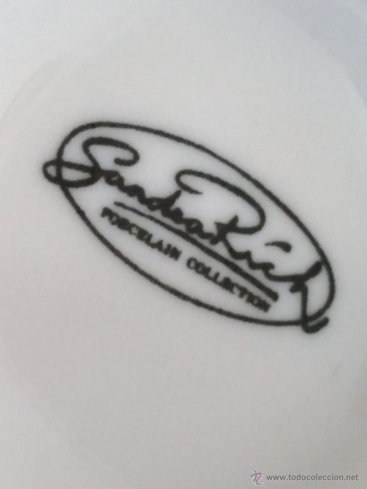 Vintage: Juego de taza y plato de porcelana. Marca Sandra Rich porcelana collection - Foto 9 - 53218477