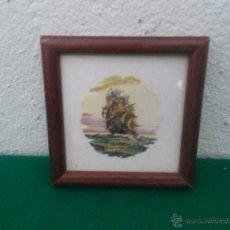 Vintage: PEQUEÑO AZULEJO . Lote 53239747