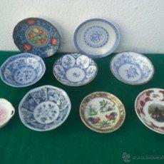 Vintage: LOTE DE PEQUEÑOS PLATOS ORIENTALES. Lote 53251495