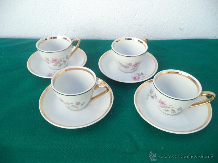 4 tasa y platos comprar porcelana y cer mica vintage en - Comprar decoracion vintage ...