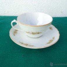 Vintage: TAZA Y PLATO. Lote 53256037