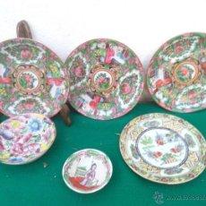 Vintage: LOTES DE PLATOS ORIENTALES. Lote 53372938