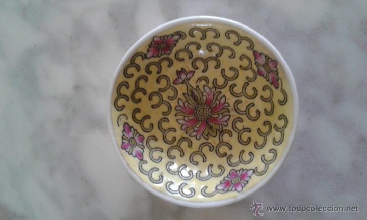 PLATITO DE PORCELANA CHINA (Vintage - Decoración - Porcelanas y Cerámicas)