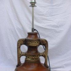 Vintage: LAMPARA VINTAGE TIPO VOLCAN DE CERAMICA ALEMANA AÑOS 60-70 GERMANY DESIGN. Lote 53125076