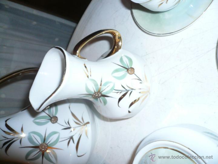 Vintage: JUEGO DE CAFÉ COMPLETO MARCA APEAN SEIS SERVICIOS. SIN FALTAS - Foto 11 - 53774993