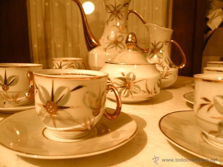Vintage: JUEGO DE CAFÉ COMPLETO MARCA APEAN SEIS SERVICIOS. SIN FALTAS - Foto 14 - 53774993