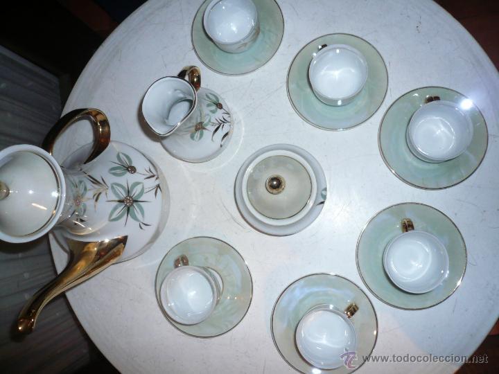 Vintage: JUEGO DE CAFÉ COMPLETO MARCA APEAN SEIS SERVICIOS. SIN FALTAS - Foto 19 - 53774993