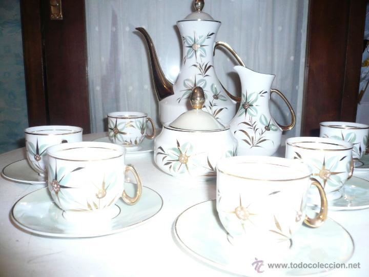 Vintage: JUEGO DE CAFÉ COMPLETO MARCA APEAN SEIS SERVICIOS. SIN FALTAS - Foto 21 - 53774993