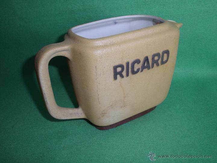 Vintage: GENIAL LOTE JARRA RICARD CERÁMICA PASTIS ANISETTE FRANCIA MARCAJE NUMERACIÓN AÑOS 50-60 - Foto 3 - 53809177