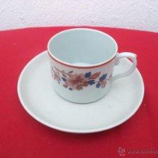 Vintage: TAZA Y PLATO VISTAALEGRE. Lote 53861359
