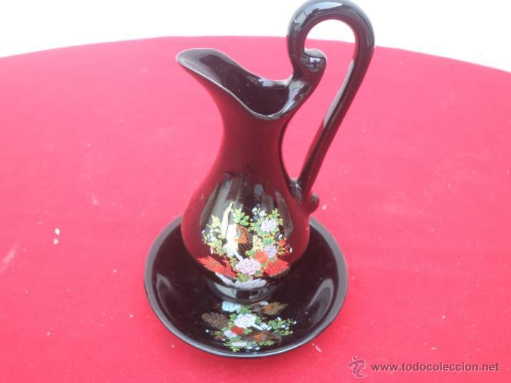 JARRA Y PALANGANA (Vintage - Decoración - Porcelanas y Cerámicas)
