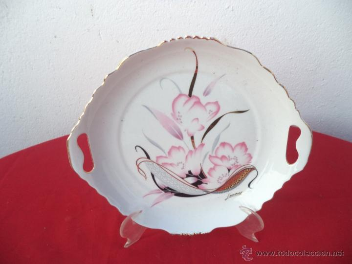 BANDEJA CERAMICA (Vintage - Decoración - Porcelanas y Cerámicas)