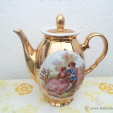 Vintage: TETERA DORADA. Lote 170966355