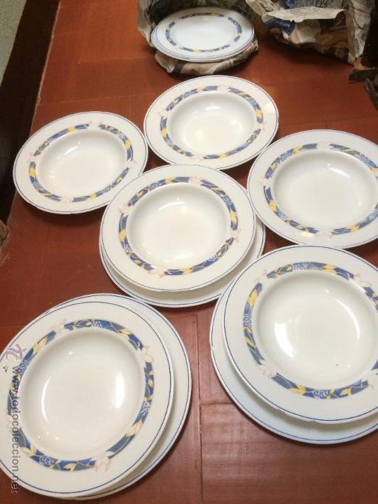 Antiguos platos vajilla de marca harmoniaen c comprar for Marcas de vajillas