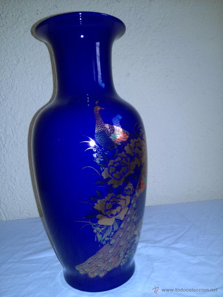 JARRON DE PORCELANA ORIENTAL - TAIWAN (Vintage - Decoración - Porcelanas y Cerámicas)