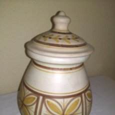 Vintage: DECORATIVO TIBOR DE PORCELANA SANBO - SELLADO. Lote 54295184