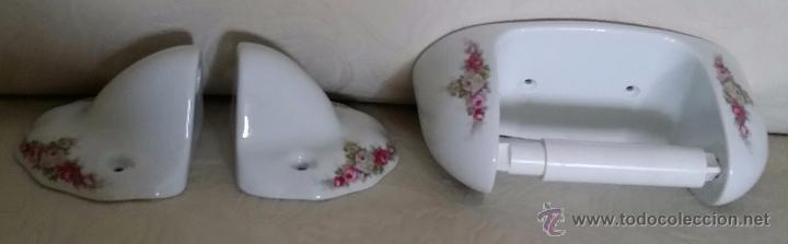 Accesorios de ba o en porcelana comprar porcelana y for Accesorios bano ceramica