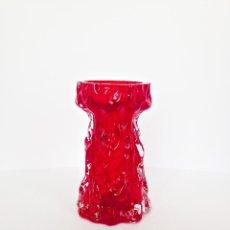 Vintage: JARRÓN DE CRISTAL - VINTAGE AÑOS 70- INGRID GLASHÜTTE - INGRID GLASS. Lote 54545083