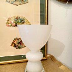 Vintage: JARRON EN OPALINA BLANCA. Lote 54729374