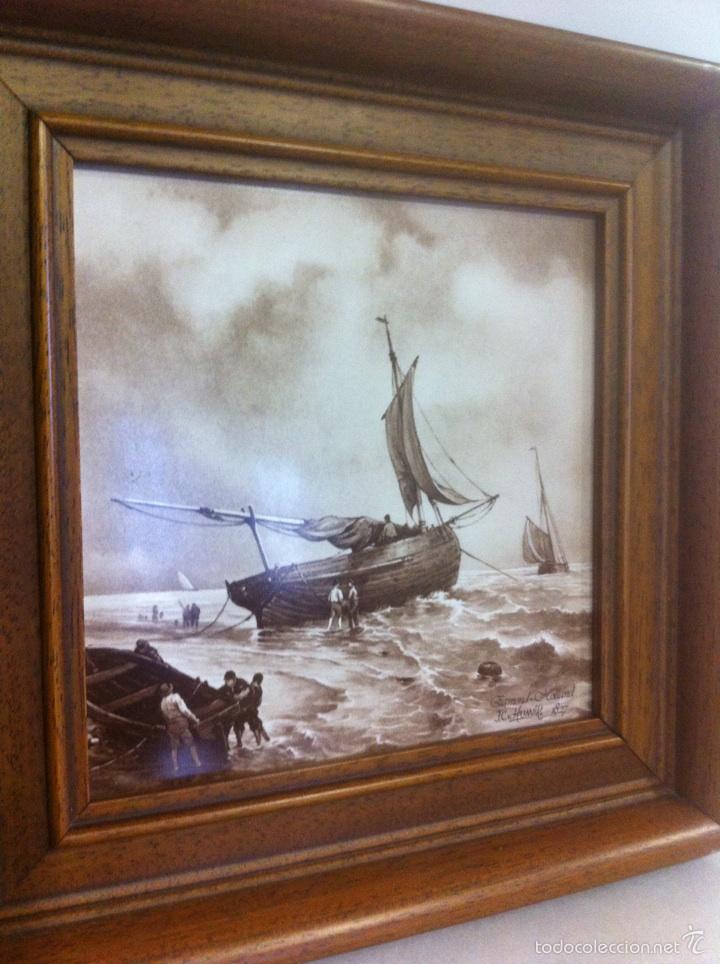 Vintage: Azulejo enmarcado - Foto 2 - 54913032