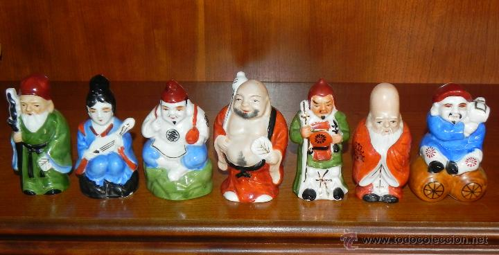 Siete Budas De La Suerte Porcelana China P Sold Through Direct Sale 69282541