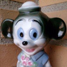 Vintage: FIGURA PORCELANA WALT DISNEY PRODUCTIONS RATÓN MICKEY MOUSE FERDY . Lote 55007103