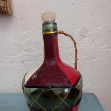 Vintage: BOTELLA REVESTIDA. Lote 55031442