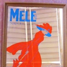 Vintage: ESPEJO ART DECO - MELE NAPOLI NOVITÀ ESTIVE - PUBLICIDAD E & A. Lote 55061375
