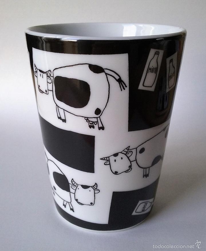 Vaso De Leche De Porcelana Con Posavasos Vacas Verkauft Durch Direktverkauf 55167926