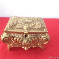 Vintage: CAJA BRONCE. Lote 55314177