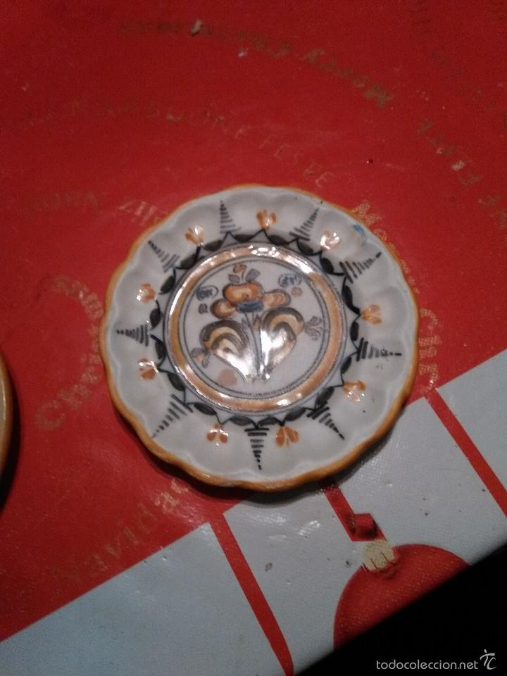 PLATOS CERAMICA (Vintage - Decoración - Porcelanas y Cerámicas)