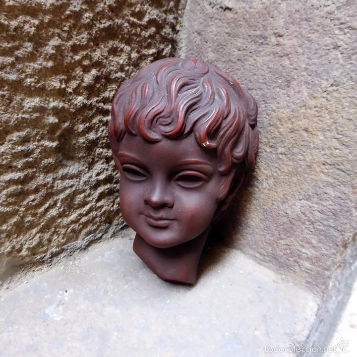 Vintage: Máscara de pared Achatit, años 50 - Foto 2 - 56258977