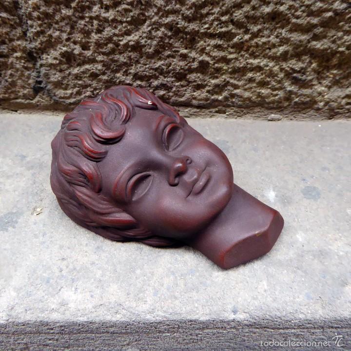Vintage: Máscara de pared Achatit, años 50 - Foto 3 - 56258977