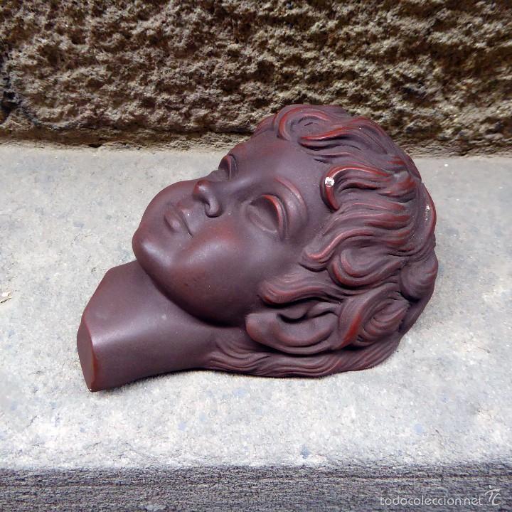 Vintage: Máscara de pared Achatit, años 50 - Foto 4 - 56258977