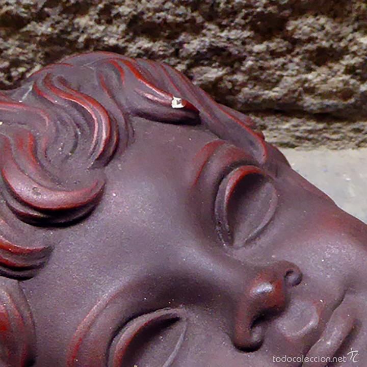 Vintage: Máscara de pared Achatit, años 50 - Foto 6 - 56258977