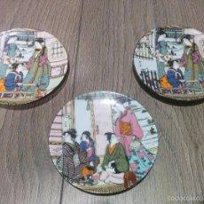 Vintage: TRES PLATOS. Lote 56264152
