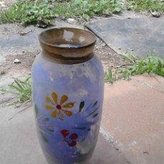 Vintage: JARRON CRISTAL COLORIDO. Lote 56331719